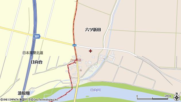 山形県酒田市宮内六ツ新田49周辺の地図