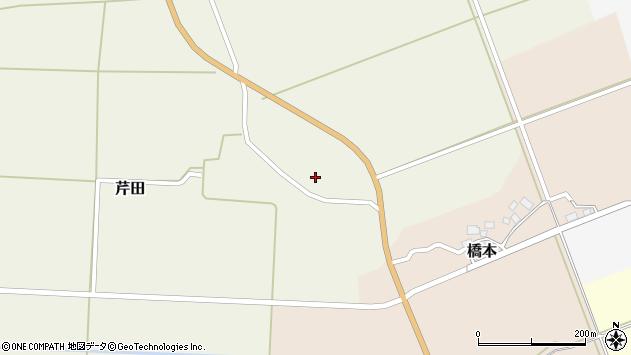 山形県酒田市芹田家ノ下4周辺の地図