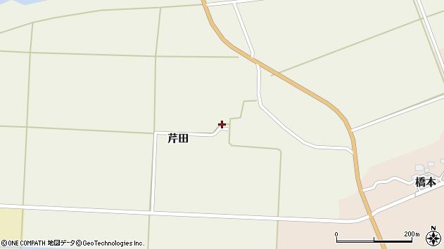 山形県酒田市芹田腰巻19周辺の地図