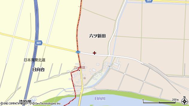 山形県酒田市宮内六ツ新田54周辺の地図