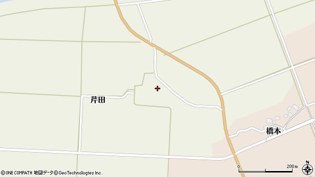 山形県酒田市芹田前田49周辺の地図
