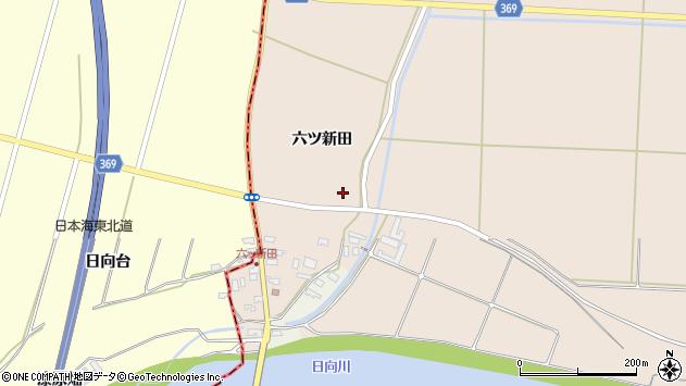 山形県酒田市宮内六ツ新田40周辺の地図