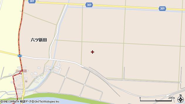 山形県酒田市宮内大坪周辺の地図