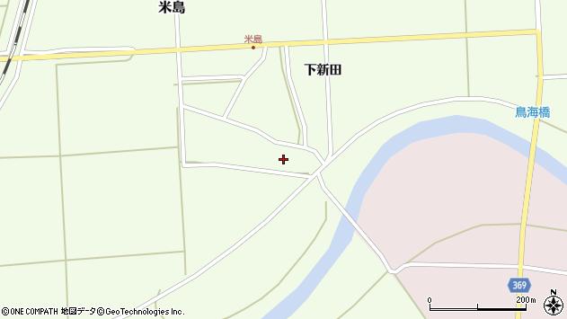 山形県酒田市米島上広面10周辺の地図