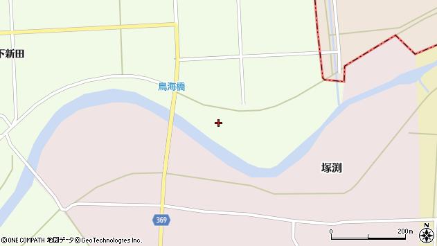 山形県酒田市米島北川原周辺の地図