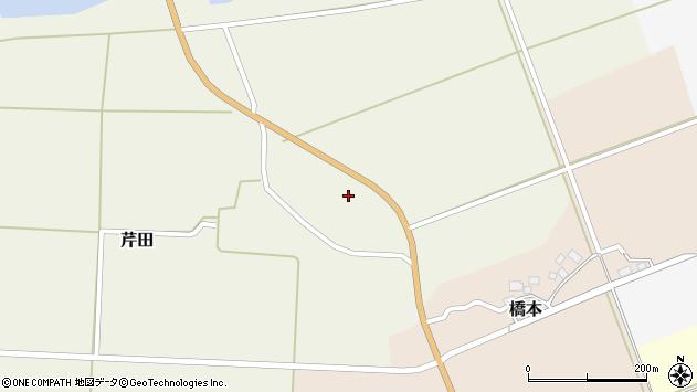 山形県酒田市芹田北田13周辺の地図