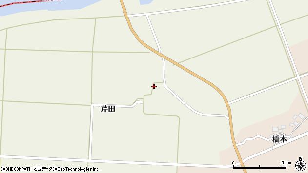山形県酒田市芹田腰巻1周辺の地図