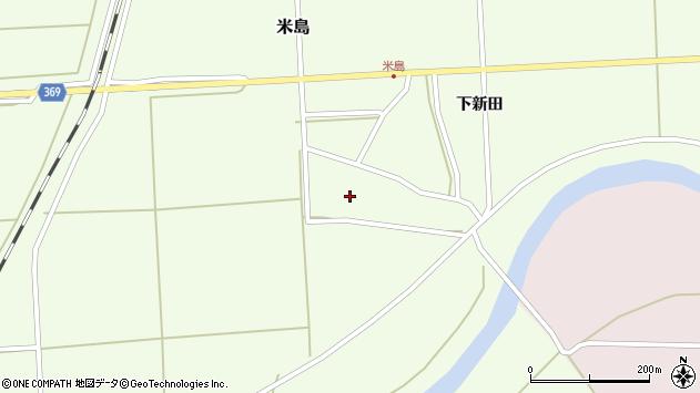山形県酒田市米島福島西30周辺の地図