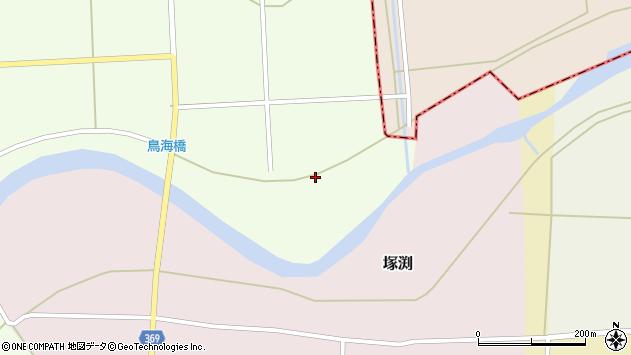 山形県酒田市米島南川原周辺の地図
