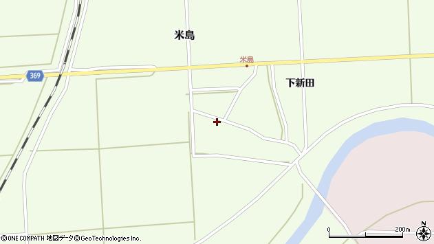 山形県酒田市米島福島西1周辺の地図