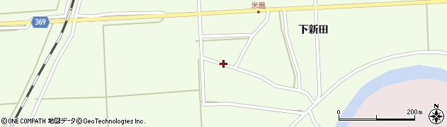 山形県酒田市米島福島西周辺の地図