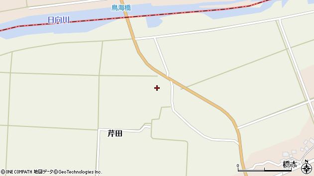 山形県酒田市芹田藤凹32周辺の地図