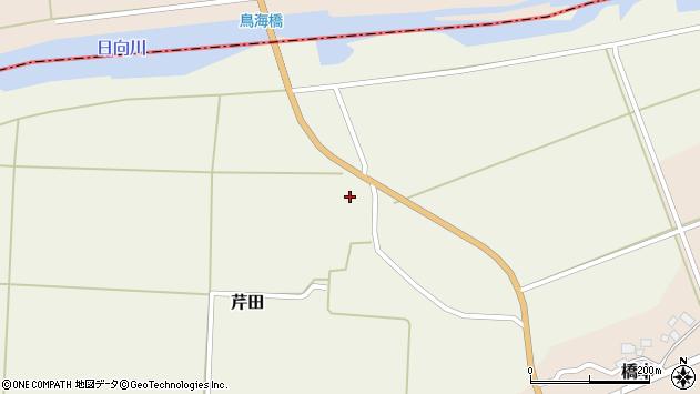 山形県酒田市芹田腰巻7周辺の地図