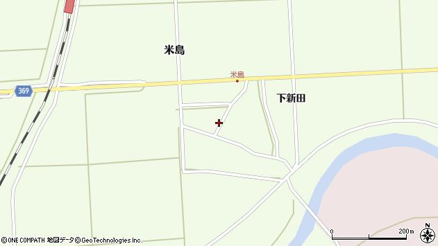 山形県酒田市米島上田中1周辺の地図