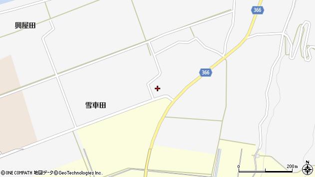 山形県酒田市福山貝ラケ43周辺の地図