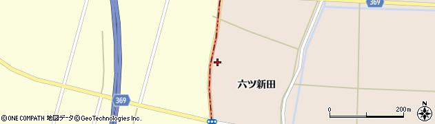 山形県酒田市宮内六ツ新田81周辺の地図