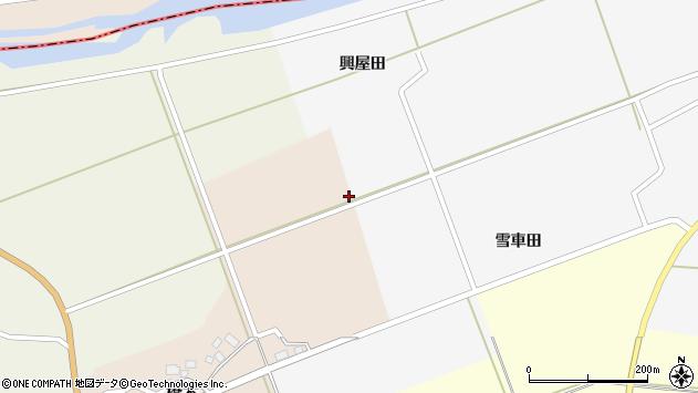 山形県酒田市福山大塚周辺の地図