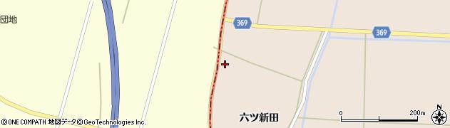 山形県酒田市宮内六ツ新田85周辺の地図