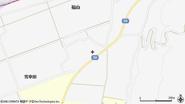山形県酒田市福山貝ラケ8周辺の地図