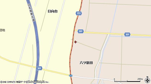 山形県酒田市宮内六ツ新田97周辺の地図