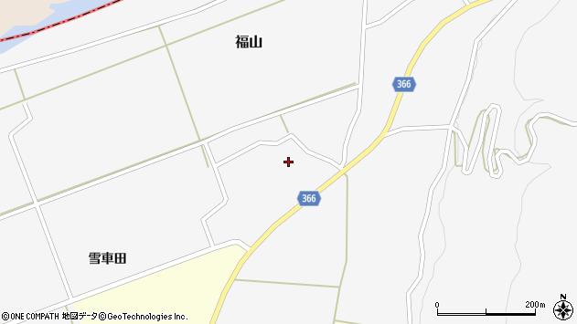 山形県酒田市福山中村西15周辺の地図