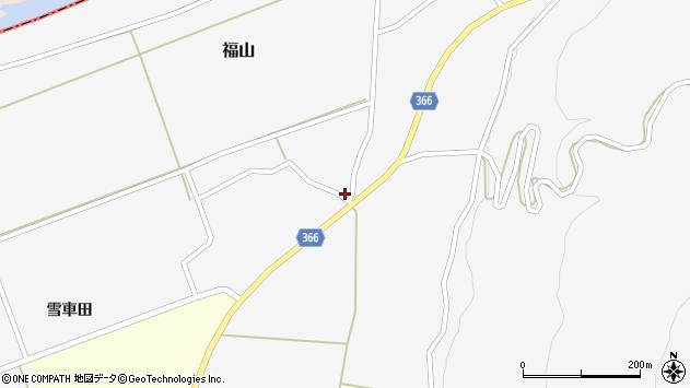 山形県酒田市福山貝ラケ2周辺の地図