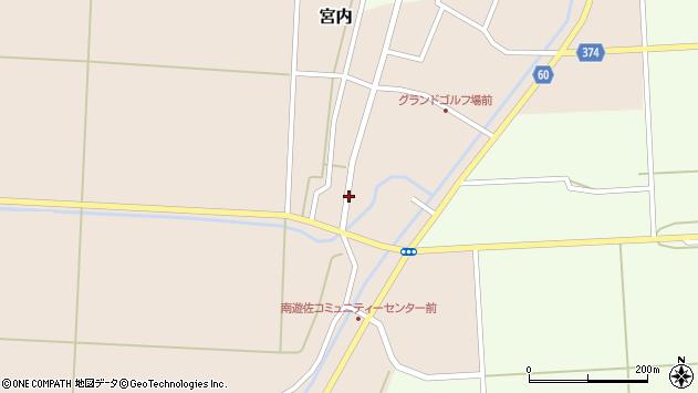 山形県酒田市宮内前田1周辺の地図