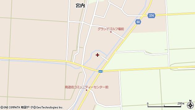 山形県酒田市宮内本楯1周辺の地図