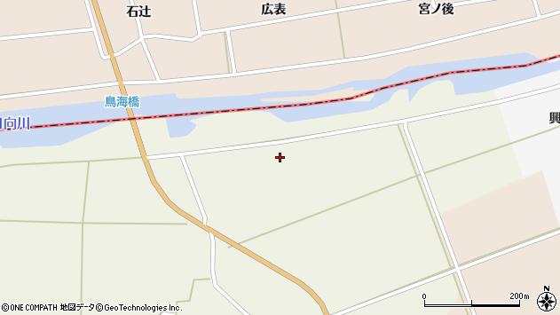 山形県酒田市芹田餅畑周辺の地図
