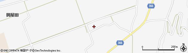 山形県酒田市福山う畑25周辺の地図
