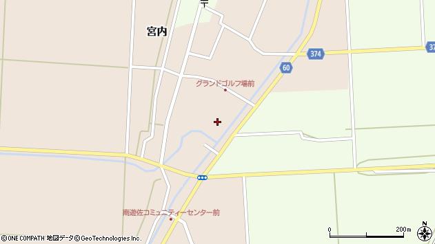 山形県酒田市宮内本楯3周辺の地図
