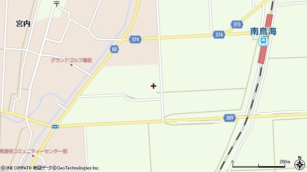 山形県酒田市米島下草田8周辺の地図