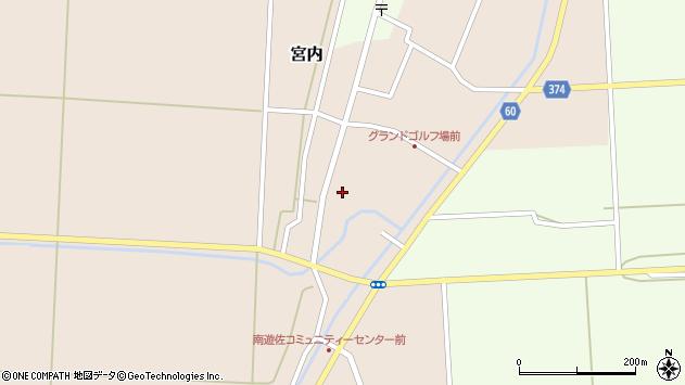 山形県酒田市宮内本楯7周辺の地図