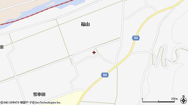 山形県酒田市福山う畑19周辺の地図