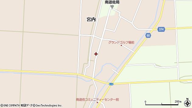山形県酒田市宮内本楯10周辺の地図
