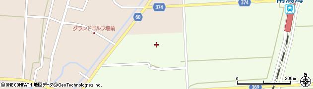 山形県酒田市米島下草田25周辺の地図