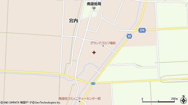 山形県酒田市宮内本楯18周辺の地図