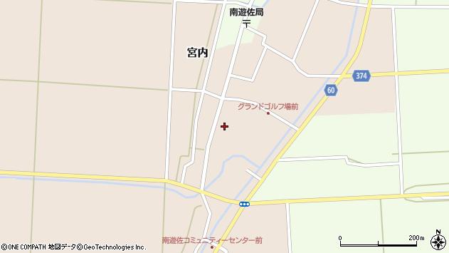 山形県酒田市宮内本楯16周辺の地図