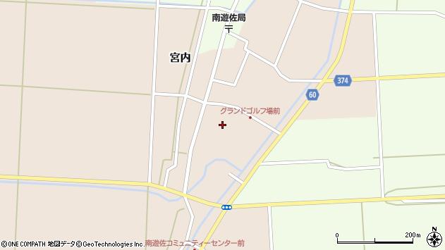山形県酒田市宮内本楯21周辺の地図