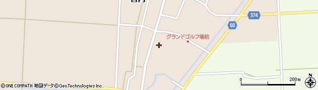 山形県酒田市宮内本楯24周辺の地図