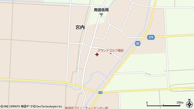 山形県酒田市宮内本楯22周辺の地図