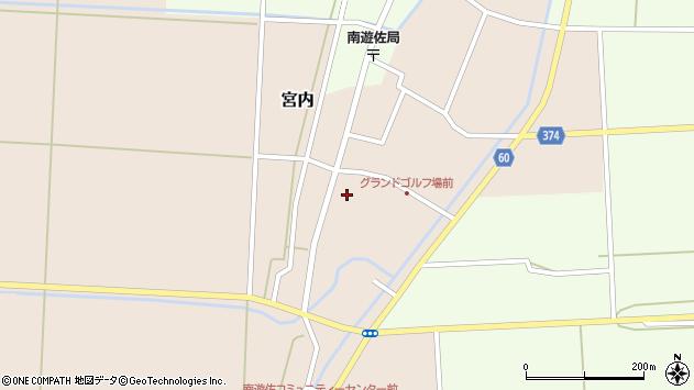 山形県酒田市宮内本楯23周辺の地図