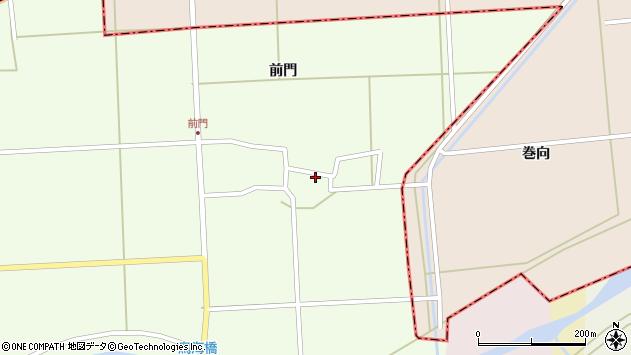山形県酒田市米島岡畑22周辺の地図