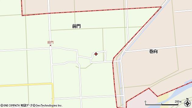 山形県酒田市米島岡畑3周辺の地図