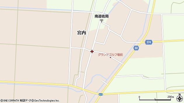 山形県酒田市宮内本楯33周辺の地図