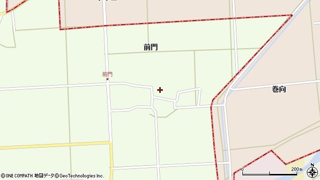 山形県酒田市米島前門40周辺の地図