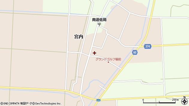 山形県酒田市宮内本楯35周辺の地図