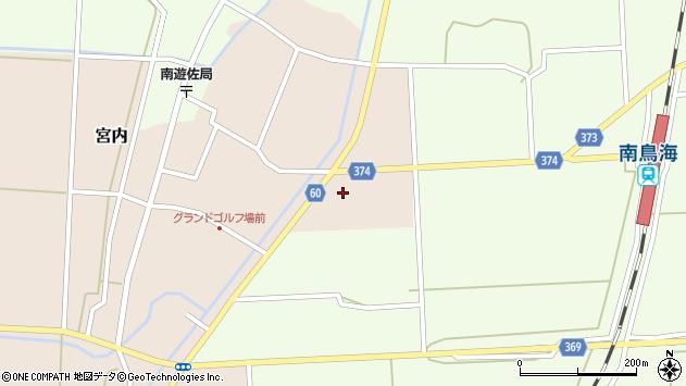 山形県酒田市宮内草田4周辺の地図