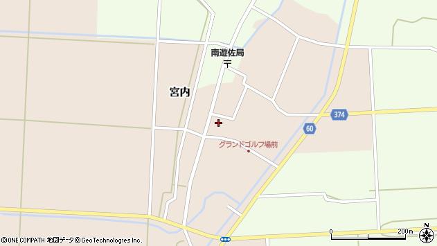 山形県酒田市宮内本楯50周辺の地図