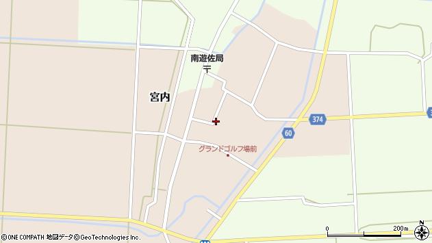 山形県酒田市宮内本楯67周辺の地図